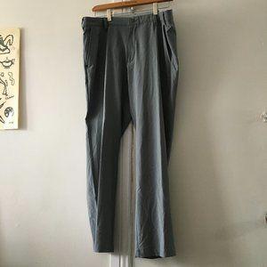 grey golf pants